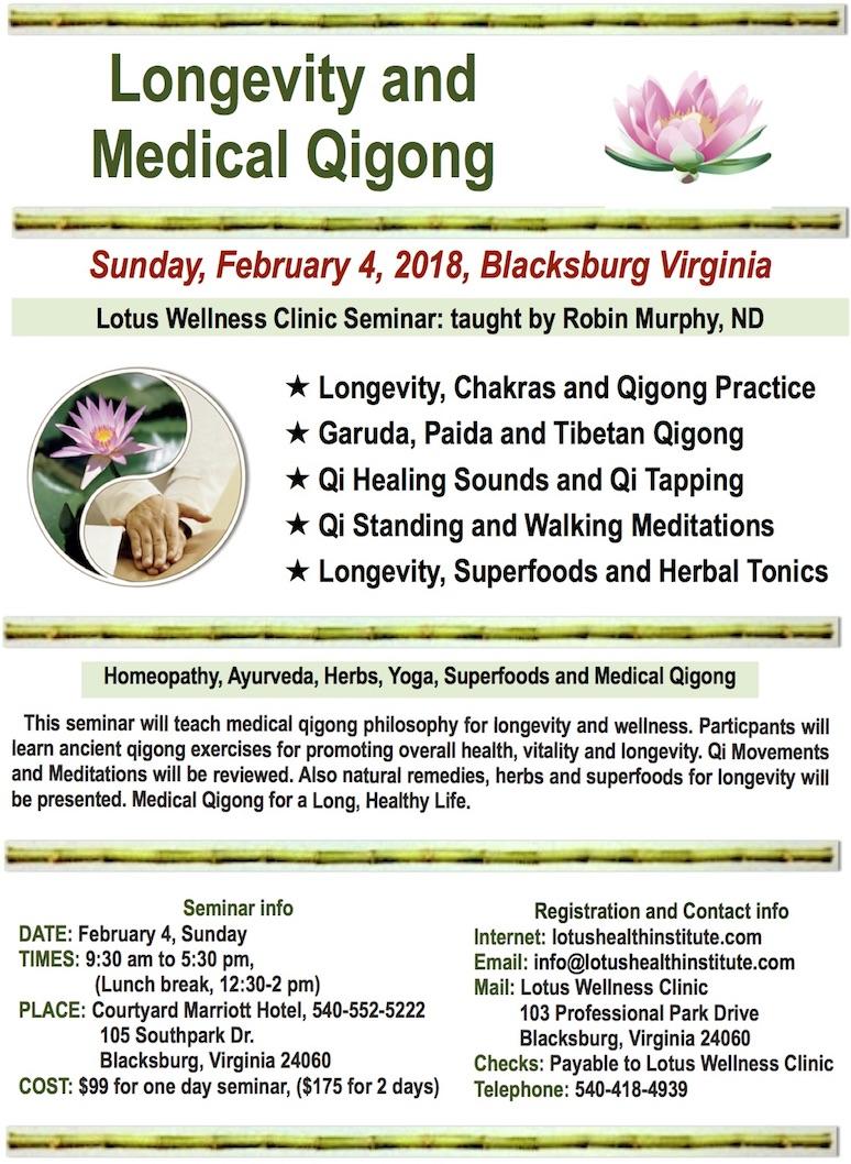 Longevity and Medical Qigong